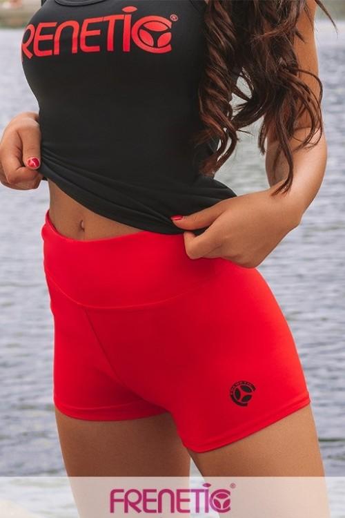 Pantaloni scurti-fitness-talia inalta-HALLY-23